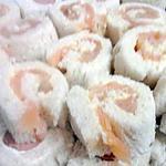 recette Roulé de pain de mie au saumon et mascarpone