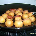 recette nage de melon au jambon fumé