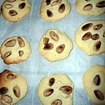 recette Cookies aux amandes