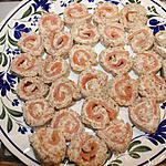 Roulés de saumon au gingembre