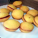 recette Whoopie pies vanille - fraise