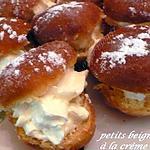 recette petits beignets à la crème