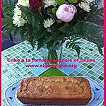 recette Cake à la tomate, anchois, olive