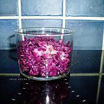 recette choux rouge au pomme