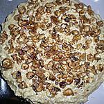 recette Gateau-mousse a l'erable et aux amandes pralinees