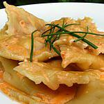 recette Raviolis chorizo ,sauce chorizo