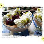 recette Coupe bicolore abricots et cerises