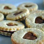 recette Biscuits fourrés à la pâte de spéculoos
