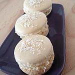 recette Macarons noix de coco