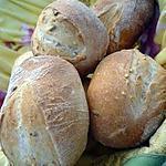 recette Petits pains au levain pour sandwichs