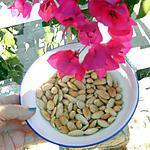 recette Amandes frites pour apéritif