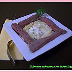 recette Risotto crémeux & bœuf grillé