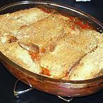 recette Gratin de Courgette à la Bouvarel