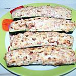 recette courgette farcie ricotta/jambon