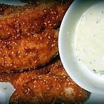 recette Croquettes de poulet aux graines de sésame