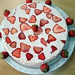 recette Delicia de Morango (délice à la mousse de fraises)