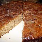 recette Gâteau aux prunes et aux noix