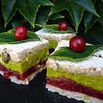 recette Douceur fruitée aux cerises et à la pistache