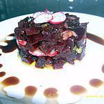 recette tartare de betteraves aux petits radis