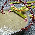 recette glace au carambar et au caramel pétillant