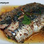 recette Sardines mariées au citron confit et graines de fenouil