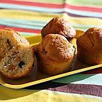 recette muffins fruits confits