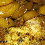 recette tajine de poulet et pommes de terre