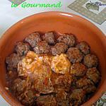 recette Tajine de boulettes
