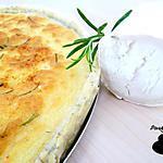 recette Tarte au chèvre et romarin