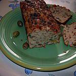 recette cake aux olives vertes et aux poivrons