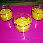 recette verrines de carotte au fromage frais