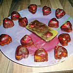 recette encore des petites douceur avec des bonbons fraise