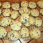 recette Biscuits à l'avoine et raisins sec ( pépittes de chocolat )