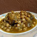 """recette """"Hargma"""" ou pieds de veau aux pois chiches et raisins secs (spécialité Marocaine)"""