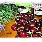 recette Marmelade de cerises au pamplemousse