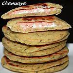 recette Mini galettes farcies au saumon fumé et philadelphia