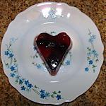 recette Coeurs de gelée aux fruits rouges