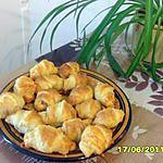 recette Mini-croissants salés
