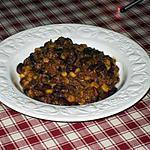 recette Mon Chili Con Carne