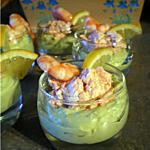 verrine avocat : recette Verrines avocat saumon