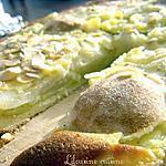 recette Tarte amandine aux poires