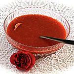 recette COULIS DE FRAMBOISES