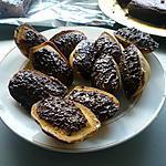 recette Madeleines à la vanille coque chocolat noix de coco