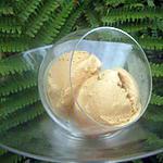 recette Glace mascarpone-caramel