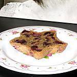 recette Clafoutis aux Cerises, Lait d'Amande fraise-framboise