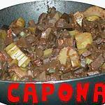 recette Caponata