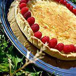 recette Tarte framboise amandes