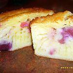 recette cake au citron et aux cerises (fête des pères)