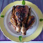 recette Poulet farci lardons/champignons