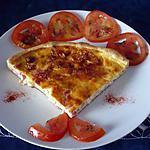 recette Quiche tomates/lardons de volaille